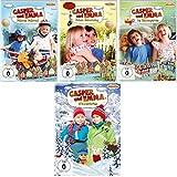 Casper und Emma - 4 DVD-Set (Fahrrad, Geburtstag, Kindergarten, Winterferien) - Deutsche Originalware [4 DVDs]