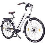 "NCM Milano Max N8R Bicicletta elettrica da Trekking,28"" Bicicletta da Città, 250W Motore Centrale, Batteria 36V 16Ah…"