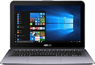 "ASUS VivoBook Flip TP203NAH-BP054T 1.10GHz N3350 Intel Celeron 11.6"" 1366 x 768Pixel Touch screen Grigio Ibrido (2 in 1)"
