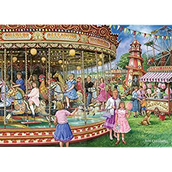 """1000 Piece Jigsaw Puzzle - Gallopers """"NEW JULY 2014"""""""