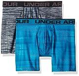 Under Armour Herren Original 6in 2 Pack Novlty Unterhose, Blue Shift/Steel, S