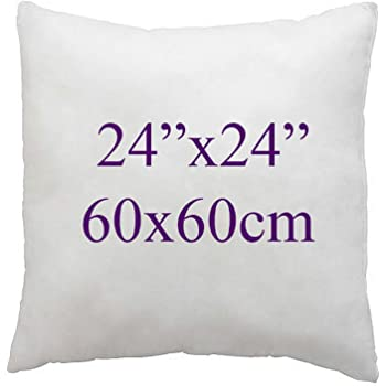"""26/"""" x 26/"""" Inch Square Cushion Inner Pads OVER FILLED  Non Allergenic  Multipacks"""