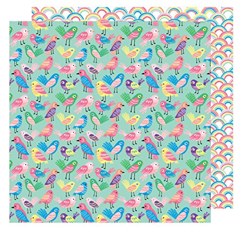 AMY Tan 30,5x 30,5cm Papier Tweet (25Pack), 12-x-12-inch