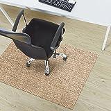 Design Bodenschutzmatte Verona in 6 Größen | dekorative Unterlegmatte für Bürostühle oder Sportgeräte (150 x 180 cm)