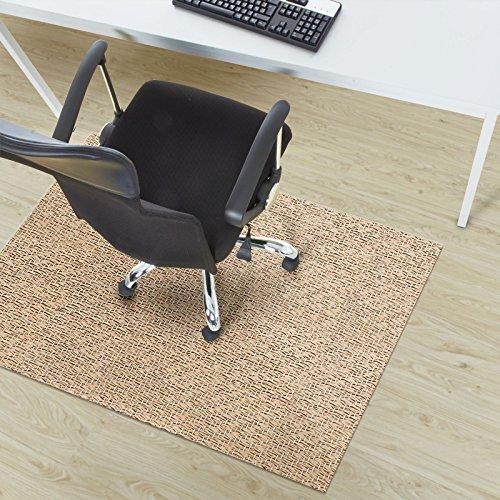 Design Bodenschutzmatte Verona in 6 Größen | dekorative Unterlegmatte für Bürostühle oder Sportgeräte (200 x 180 cm) Dekorative Schreibtisch-matte