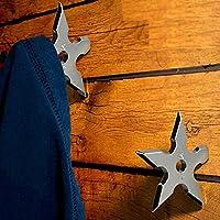 Ninja Shuriken Ninja Coat Hook Star Coat Home Decoration [ 1 Packs]