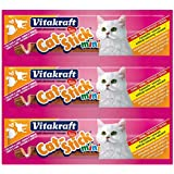 Vitakraft Katzensnack Cat-Stick mini Truthahn & Lamm - 3 x 6g