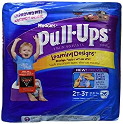 Huggies Pull-Ups Learning Designs Training Pants 2T-3T Boy