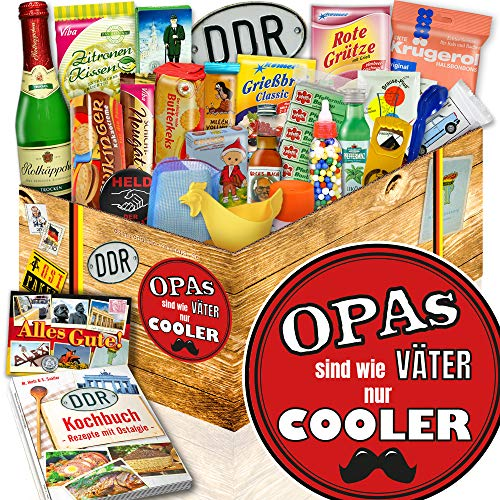 Coole Opas | 24er DDR Set | Geschenk für Opa Geburtstag