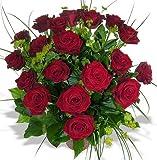 Rosenstrauß aus 12 roten Rosen