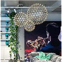 DBKLL Nordic Restaurant Schlafzimmer Wohnzimmer Lampen Kronleuchter Kreative Personlichkeit Nach Modernen Minimalistischen Industrielle Spharischen Spark