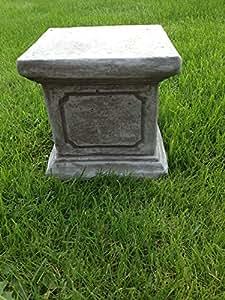 Socle en pierre pour décoration de jardin en colonne steinfiguren résiste au gel