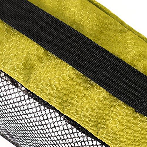 Gonex Kleidertaschen Verpackungswürfel Kofferorganizer Gepäck verschiedenes Set (L+M+2R+Beutel)Gelb