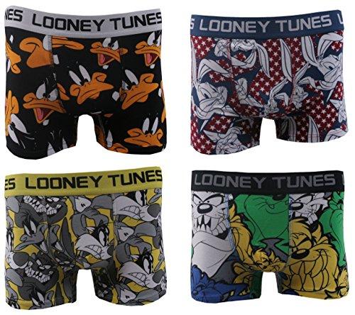 boxers-homme-lot-de-4-looney-tunes-couleur-multicolor-taille-l