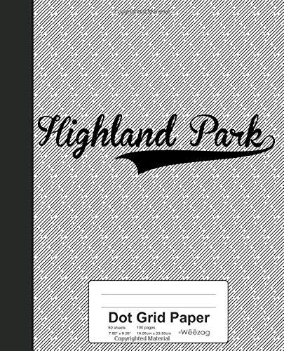 Dots Boys Band (Dot Grid Paper: HIGHLAND PARK Notebook (Weezag Dot Grid Paper Notebook, Band 3019))