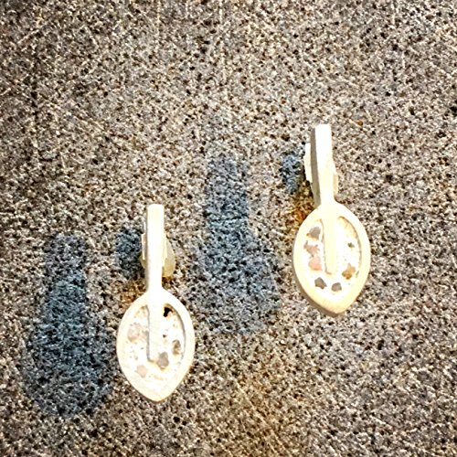 small-silver-leaf-and-concrete-earringslondon-hallmark-urban-rustic