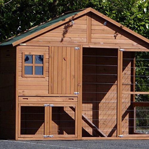 Animalhouseshop.de Hühnerstall Holiday Large 247x93x195cm