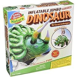 "Pequeño mundo juguetes naturaleza–Dinosaurio hinchable de. Triceratops Kit, 46"""