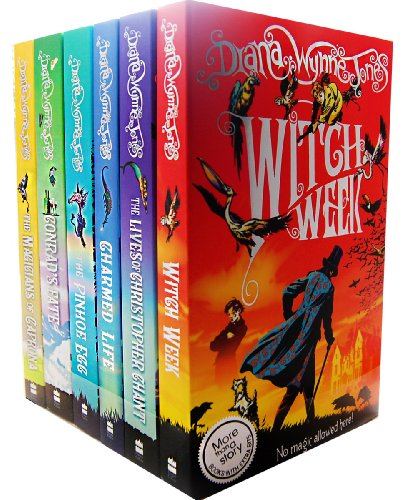 Diana Wynne Jones Chrestomanci 6 Books Collection Pack Set RRP: 41.94 (The M...