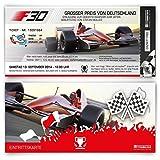 Einladungskarten zum Geburtstag (10 Stück) als Formel Ticket Rennwagen Einladung Karte Rennfahrer