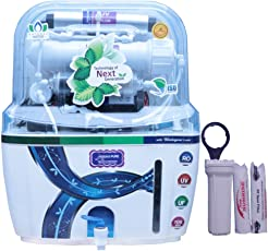 DE AquaZpure 15L 14 Stage RO UV UF TDS Alkaline Water Purifier with Full KIT (A1028)