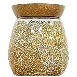 PureAir Airpure Il Mosaico Elettrico Cera bruciatore Olio Melter con retroilluminazione–Gold