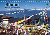 Bhutan 2019 - Land des Donnerdrachens (Tischkalender 2019 DIN A5 quer): Klöster, Menschen und Landschaften aus Bhutan (Monatskalender, 14 Seiten ) (CALVENDO Orte)