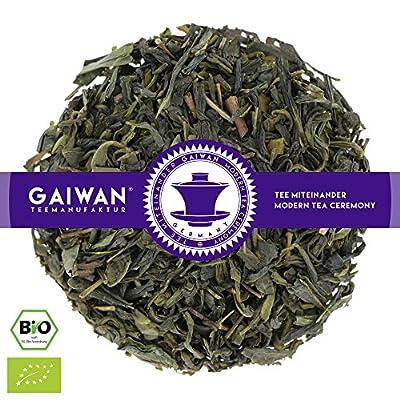"""N° 1339: Thé vert bio""""Vanille verte"""" - feuilles de thé issu de l'agriculture biologique - GAIWAN GERMANY - thé vert de Chine"""