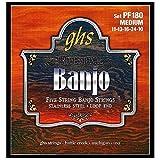 GHS PF180 Jeu de 5 cordes pour Banjo