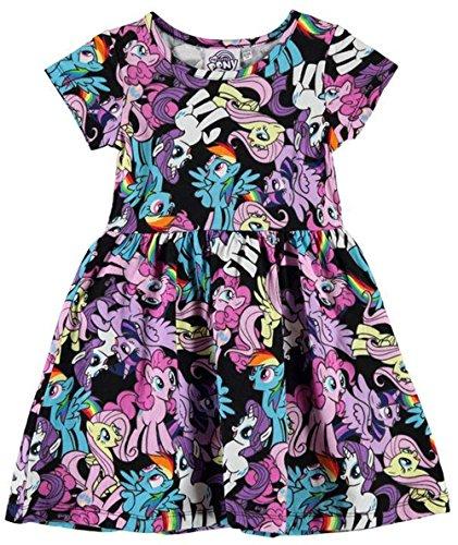 kids-girls-all-over-print-jersey-cotton-dress-5-6-yrs-my-little-pony