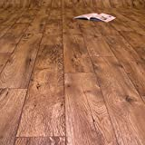 PVC Bodenbelag Holz Rustikal Dunkel Breite 4 m (9,95 € p. m²)