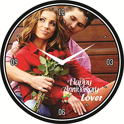 design connection customized wall clock for birthday, wedding, anniversary & party Design Connection Customized Wall clock for Birthday, Wedding, Anniversary & Party 61P2OiiCHcL