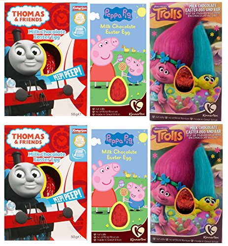 x6-kinnerton-easter-eggs-assortment-45g-thomas-and-friends-peppa-pig-trolls-paw-patrol-hot-wheels