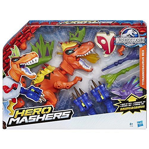 "Hasbro B1198EU4 - Set Hero Mashers ""T-Rex"", da Jurassic World"