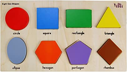 Eduedge Let's Fix -Eight Geo Shapes