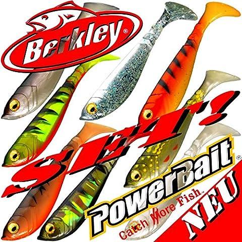 Berkley Power Bait Pulse Shad pesce di gomma Set 11cm 8colori 2016/A 3pezzi = 24pezzi nel Set