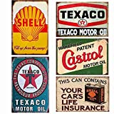 Easy Painter Vintage Blechschilder Shell Motor Öl Eisen Gemälde Metall Gemälde Garage Shop Home...
