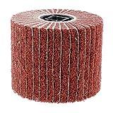 FLAMEER Vlies-Schleifrad 10x 12cm, für Polierer Bohrmaschine, 40#-320# Körnung - 40#