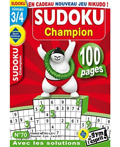 Sudoku Champion Niveau 3/4 par sportcerebral
