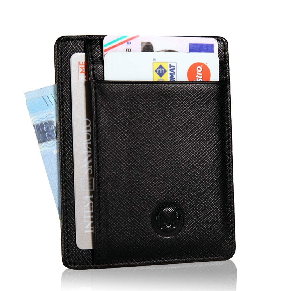 cbf57c5898 OMTEK Portafoglio Uomo Porta Carte di Credito RFID|Porta Tessere ...