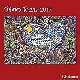 James Rizzi 2017 - Kunstkalender 2017, Broschürenkalender, Wandkalender, Posterkalender 2017, Pop Art Kalender  -  30 x 30 cm