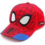 قبعة الرجل العنكبوت للأولاد، قبعة بيسبول قابلة للتنفس للأطفال، للأولاد من سن 3-9 سنوات