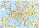 Europa politisch, Poster 1:3,5 Mio., Metallbestäbt in Rolle (freytag & berndt Poster + Markiertafeln)