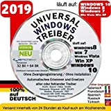 Universal Treiber Software CD / DVD für PC-Notebook mit Betriebssysteme Windows 10 ® Windows XP Vista Win7 und Windows8 32/64 NEU ORIGINAL von STILTEC ©