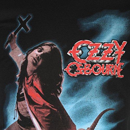 Official Herren Ozzy Osbourne T Shirt Print Freizeit Kurzarm Rundhals Tee Top Blizzard