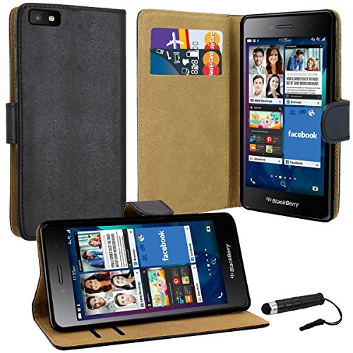 blackberry-leap-premium-leather-book-wallet-case-cover-pouch-screen-protector-with-microfibre-polish