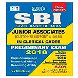 SBI Bank Junior Associates Clerical Cadre Prelims Exam Books 2018