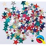 QUALATEX - Confetti Estrellas, Color Multicolor, Talla 12 grms