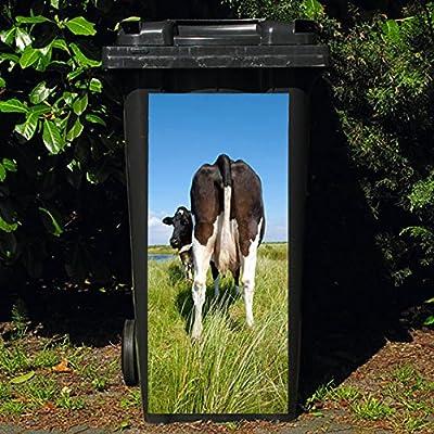 Pötschke Ambiente Mülltonnen-Aufkleber Kuh von hinten von Pötschke Ambiente auf Du und dein Garten