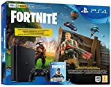 PlayStation 4 500GB e Chassis + Fortnite Voucher [Bundle]